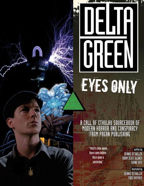 Order 'Delta Green: Eyes Only' in PDF from RPGNow.
