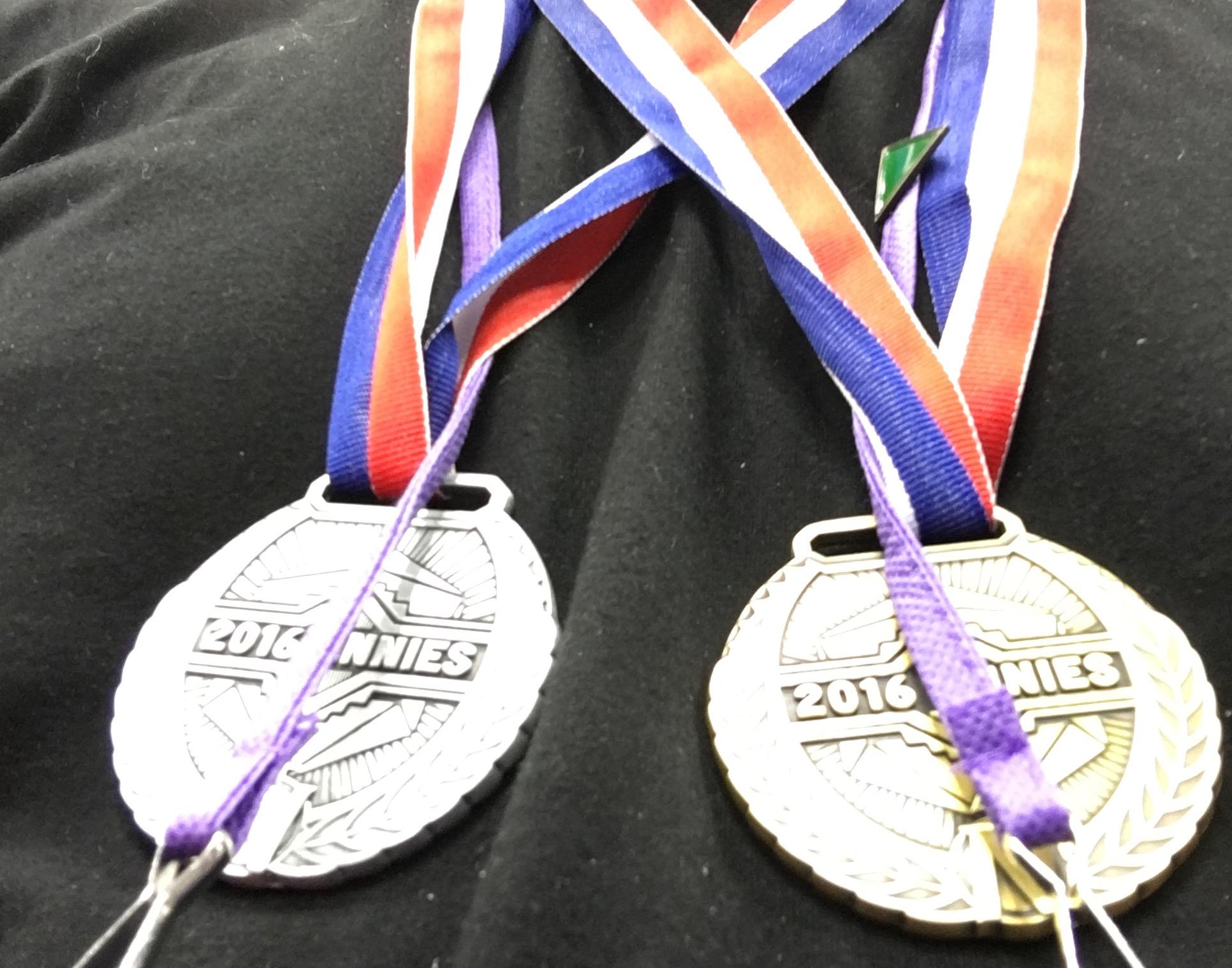 ennie medals