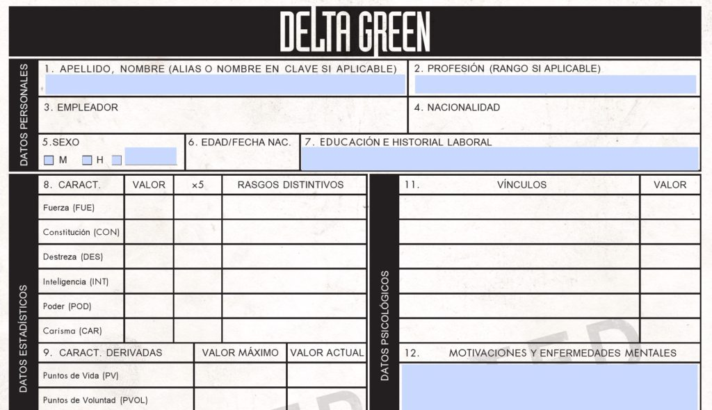 Delta Green - Hoja de personaje (interactiva)